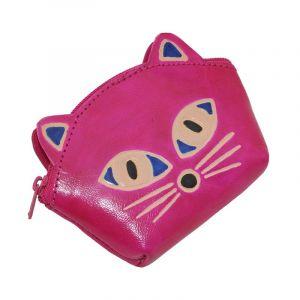 Peněženka na drobné Kočička růžová