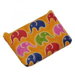 Peněženka na drobné Sloni žlutá