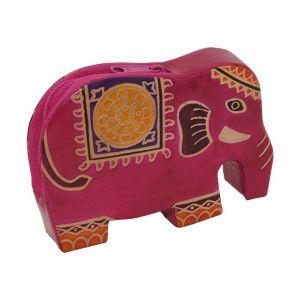 Peněženka na drobné Elefant fialový