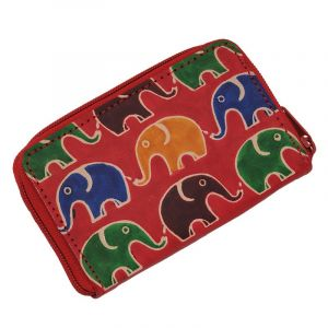 Pouzdro Cute Sloni červená