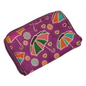 Pouzdro Cute Deštníky fialové