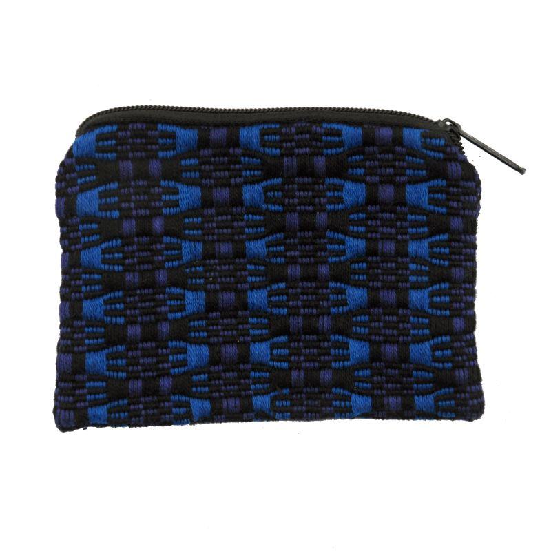 Bavlněná peněženka na drobné mince tkaná 10 x 8 cm E | SoNo spol. s r.o.