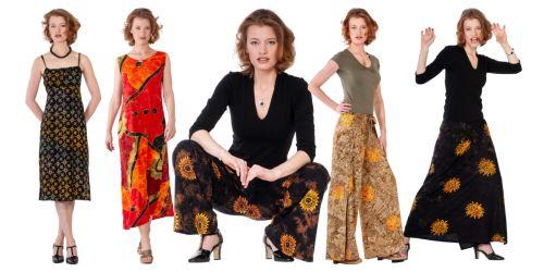 Batikované oblečení BOB
