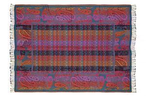 Pléd - šála Kašmír 190 x 140 cm fialový