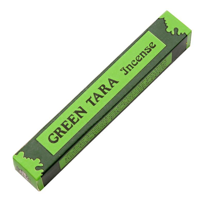Green Tara incense tibetské vonné tyčinky 19 ks