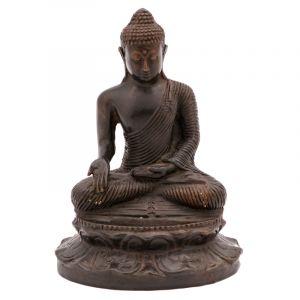 Soška Buddha kov 16 cm II