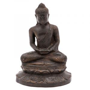 Soška Buddha kov 16 cm III