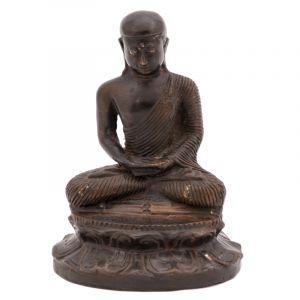 Soška Buddha kov 16 cm IV