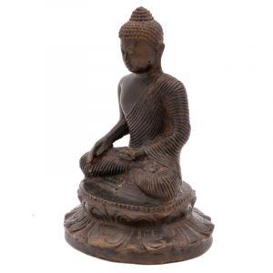 Soška Buddha kov 16 cm V