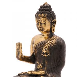 Soška Buddha kov 17 cm