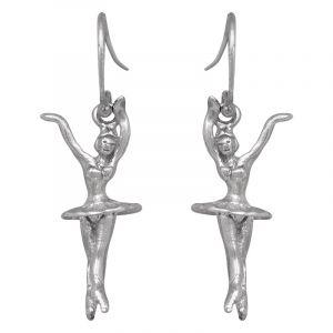 Stříbrné náušnice Ag 3,5 g tanečnice