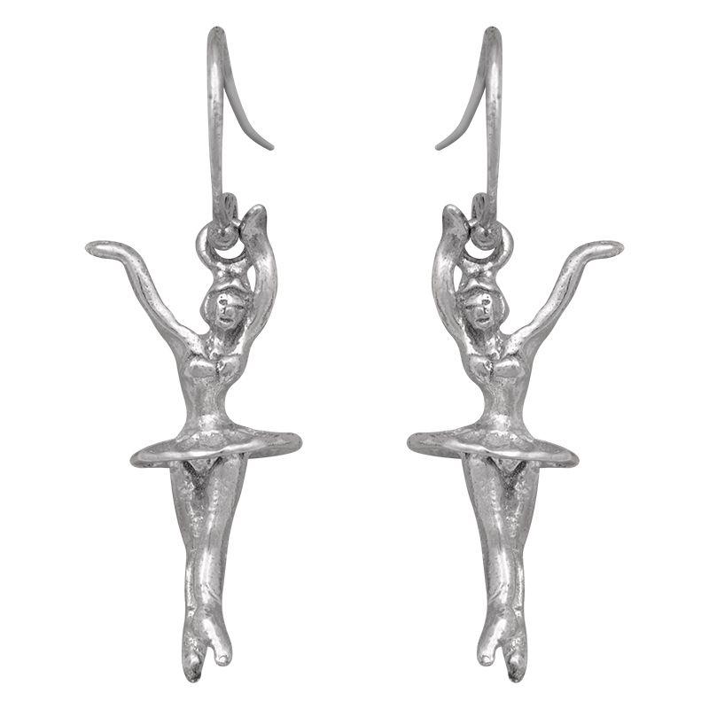 Stříbrné náušnice Ag 3,5 g tanečnice | SoNo spol. s r.o.