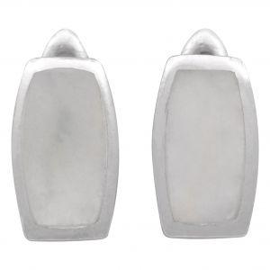 Stříbrné náušnice perleť Ag 3,6 g