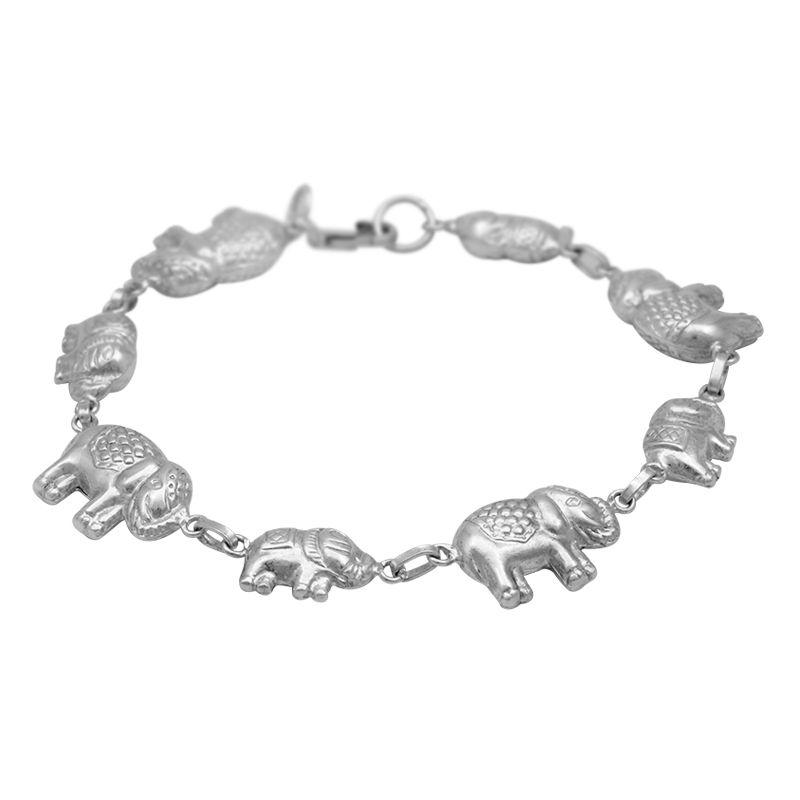 Stříbrný náramek Ag 8,4 g Sloni Myanmar   SoNo spol. s r.o.