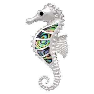 Stříbrný přívěsek paua Ag 5,0 g mořský koník