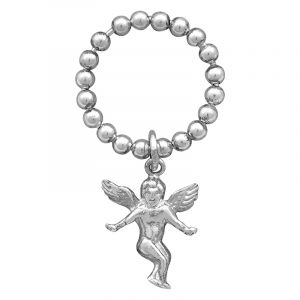 Stříbrný prsten Ag 2,4 g anděl