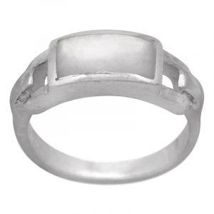 Stříbrný prsten perleť Ag 4,7 g