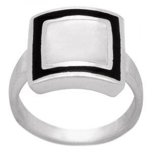 Stříbrný prsten s perletí Ag 5,7 g | SoNo spol. s r.o.