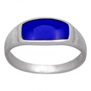 Stříbrný prsten lapis lazuli Ag 2,5 g