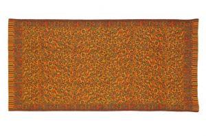 Pléd - šála Kašmír 210 x 100 cm květy C