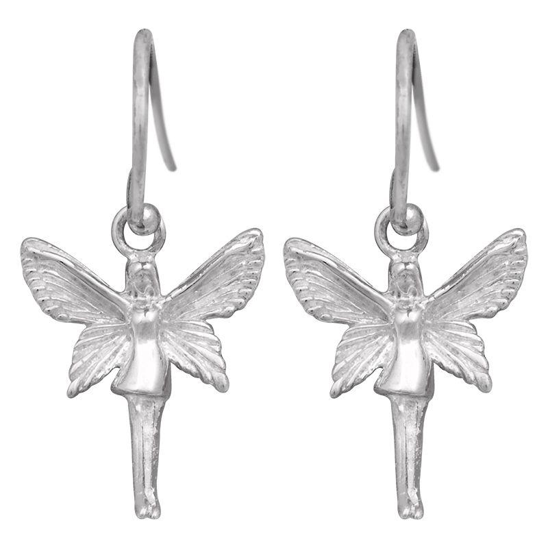 Stříbrné náušnice Ag 1,5 g anděl