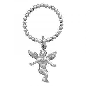 Stříbrný prsten Ag 1,8 g anděl