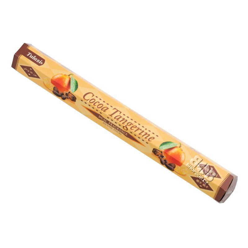 Tulasi Dual Cocoa Tangerine indické vonné tyčinky 20 ks | SoNo spol. s r.o.
