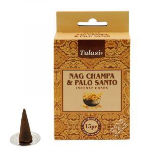Vonné františky Tulasi Nag Champa Palo santo