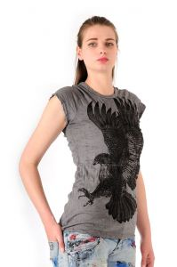 Dámské tričko Sure Orel šedé
