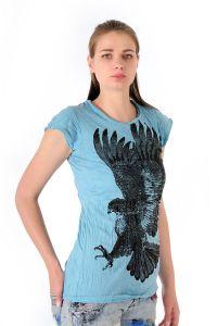 Dámské tričko Sure Orel tyrkysové
