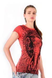 Dámské tričko Sure Slon červené