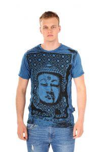 Pánské tričko Sure Buddha modré | SoNo spol. s r.o.