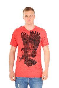 Pánské tričko Sure Orel červené