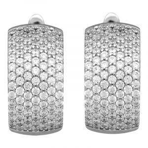 Stříbrné náušnice se zirkony Ag 6,3 g | SoNo spol. s r.o.
