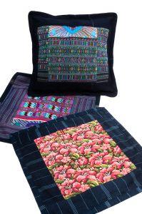 Povlak na polštář vyšívaný tkaný 45 x 45 cm | SoNo spol. s r.o.