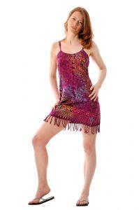 Šaty BOB Neorombe na ramínka Kolibřík fialové