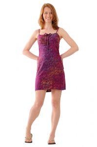 Šaty BOB Tali na ramínka Kolibřík fialové