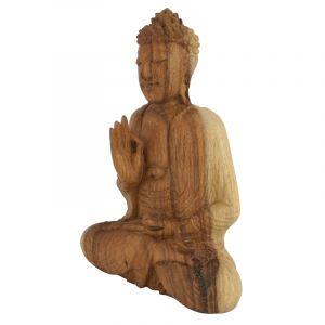 Soška Buddha dřevo 25 cm sv Vitarka | SoNo spol. s r.o.