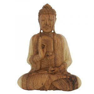 Soška Buddha dřevo 25 cm sv Vitarka