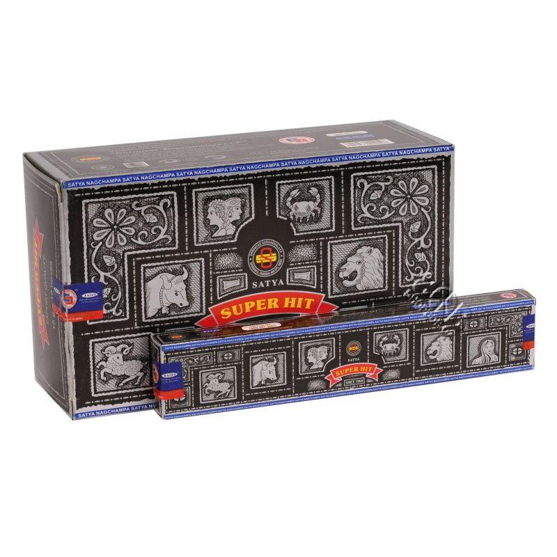Satya Super Hit indické vonné tyčinky BOX 12 x 15 g   SoNo spol. s r.o.