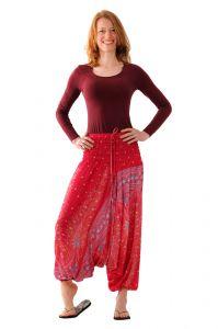 Kalhoty Aladin / Sultánky růžové
