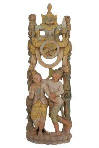 Soška Barma dřevo 100 cm