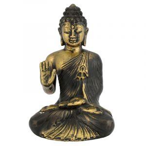 Soška Buddha kov 13 cm II