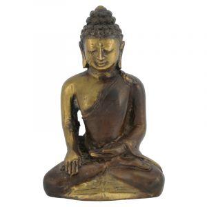 Soška Buddha kov 13 cm III