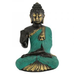 Soška Buddha kov 13 cm IV | SoNo spol. s r.o.