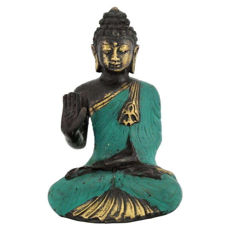 Soška Buddha kov 13 cm IV