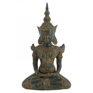 Soška Buddha kov 28 cm Thai
