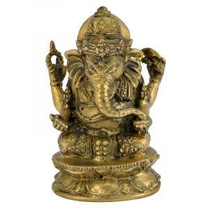 Soška Ganesh kov Barong 12 cm