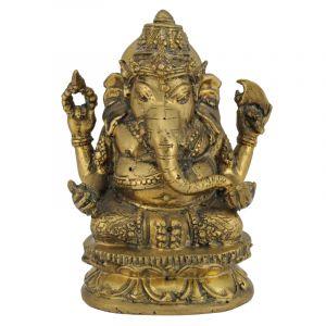 Soška Ganesh kov Barong 15 cm