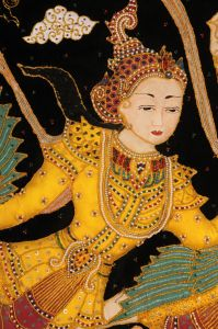 Vyšívaná dekorace Kalaga Kenji a Kenda 89 x 133 cm | SoNo spol. s r.o.
